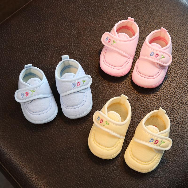 初生婴儿鞋子春秋3三7八9九女鞋