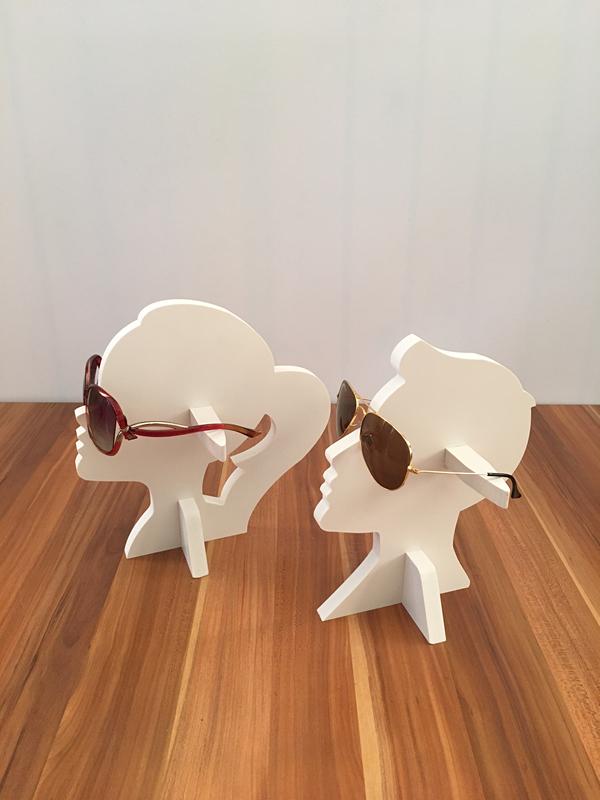 Прекрасный смысл достигать 16 модель личность люди шоу реквизит мужской и женщины человек лицо очки дисплей творческий очки реквизит