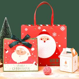 新品圣诞节礼物包装袋 圣诞老人礼品袋 圣诞糖果包装袋 定制纸袋图片