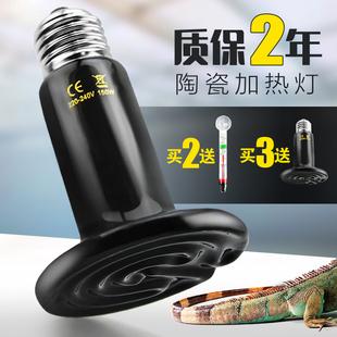 陆龟蜥蜴爬虫箱陶瓷加热灯保温灯宠物蛇刺猬饲养箱鹦鹉用品