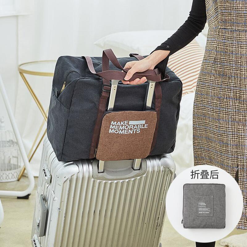 防水可折叠可套拉杆箱旅行包旅游包女...