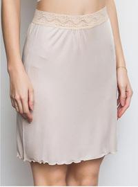 真絲防透內襯裙防走光桑蠶絲半身裙內搭防靜電打底裙里襯百搭短裙圖片