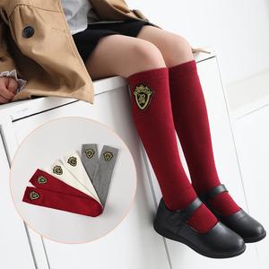 女童过膝夏季英伦学院风儿童中筒袜