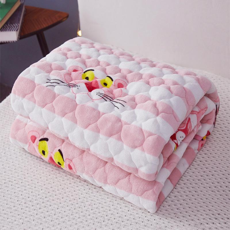 冬季法兰绒加绒珊瑚绒床单床上铺毛毯铺床加厚防滑绒毯子床垫床毯