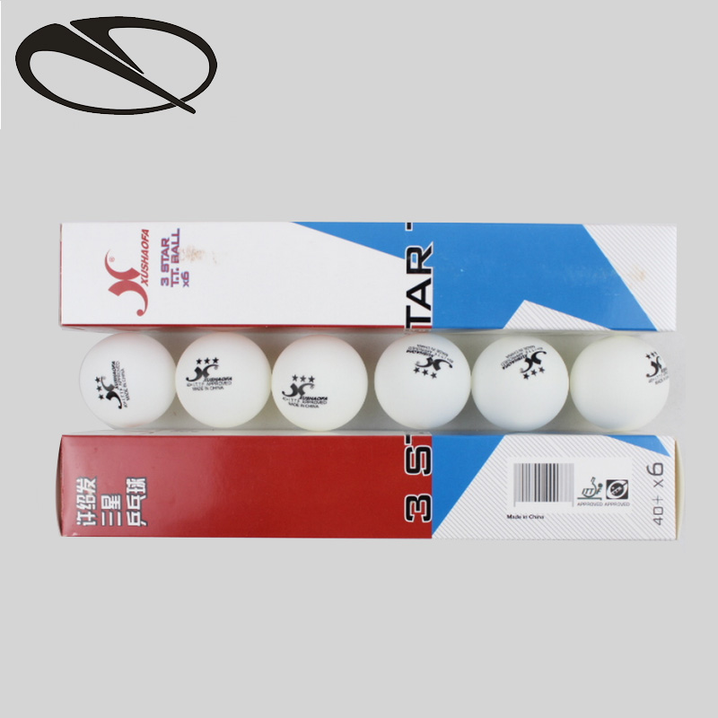 Samsung table tennis new material racket seamless competition training professional ball white authentic 40 + MM6 pack