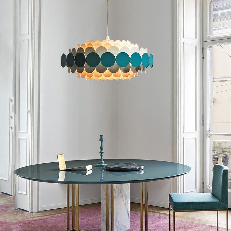 后现代创意卧室吊灯时尚简约温馨儿童房客厅餐厅样板房设计师吊灯