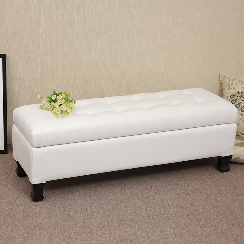欧式床榻床尾凳储物床边沙发凳门厅换鞋凳卧室贵妃凳衣帽间长凳子(非品牌)