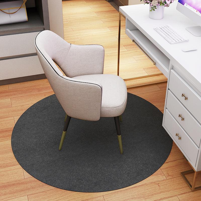 圆形地毯卧室电脑椅转椅地垫茶几地垫客厅家用吊椅垫子圆形地垫
