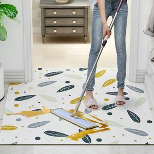 可擦洗地垫门口进门地毯家用客厅卧室门垫防水防滑免洗厨房脚垫子