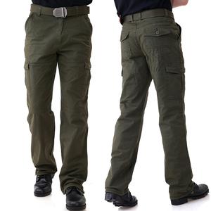 军野行户外野战军迷服饰男宽松军裤工装裤加肥加大登山作训裤