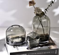 简生活 艺术花瓶 创意INS玻璃花器客厅餐桌家居鲜花插花瓶工艺品