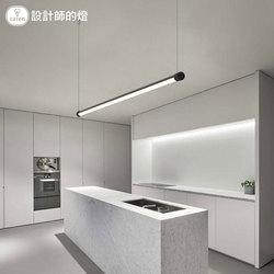 设计师的灯 极简主义led长条办公室吧台氛围灯具现代简约餐厅吊灯