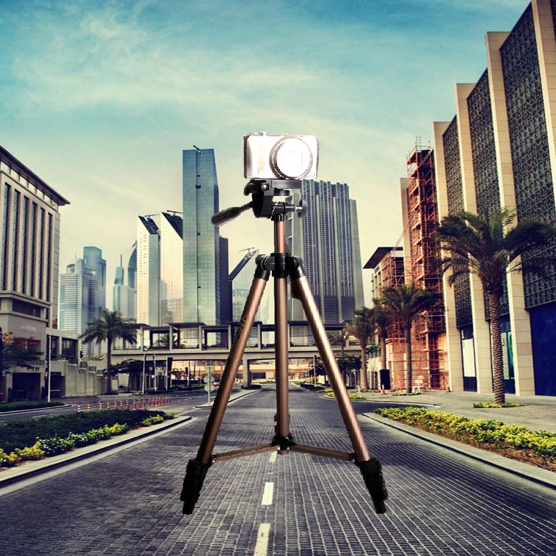 纽曼E6/F516/F518/F9手机三脚架微单单反相机三角便携视频铝合金