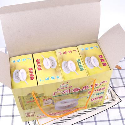 Guangzhou Panyu Shawan Zhenfu ginger juice hit milk gift box 600g combination double skin milk almond milk souvenir breakfast brewed drink