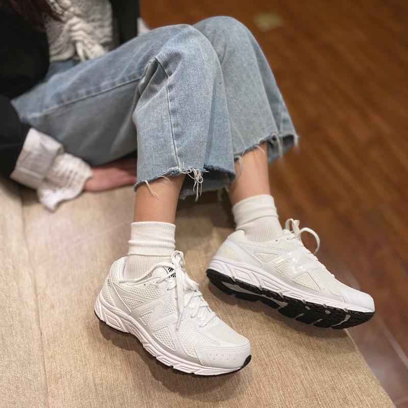 坏蛋的店 New Balance/NB 女款休闲运动跑步鞋 白色运动鞋W480WS5
