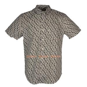 Levis李维斯专柜正品21977-0053男士休闲夏款纯棉短袖LOGO单衬衫