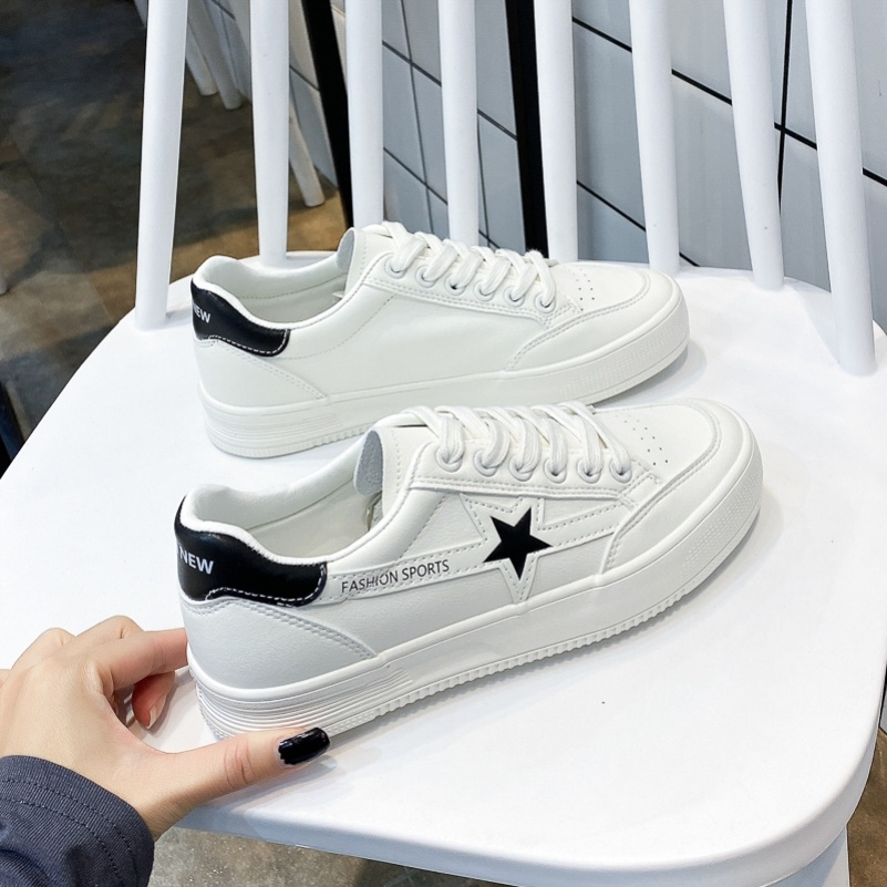 Lazy new spring Xiaobai sports low top classic spring and autumn womens color matching modeling student car flat shoes women