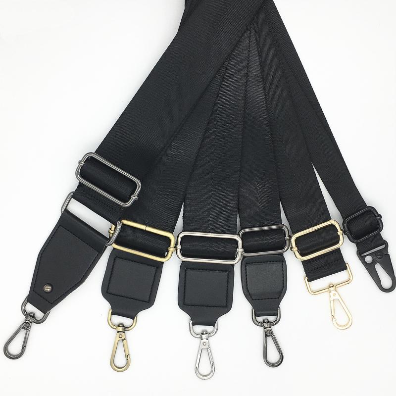 黑色宽包带配件  斜跨单买百搭带子宽肩带斜挎替换带背包带宽肩带