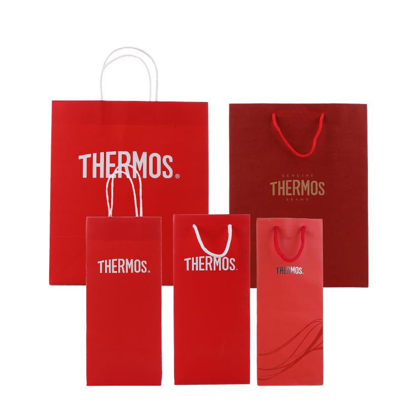 Термос / еда магия модельние термос кружка сохранение тепла горшок портативные счетчики бумажный мешок в руке мешок размер пакет бумажный мешок