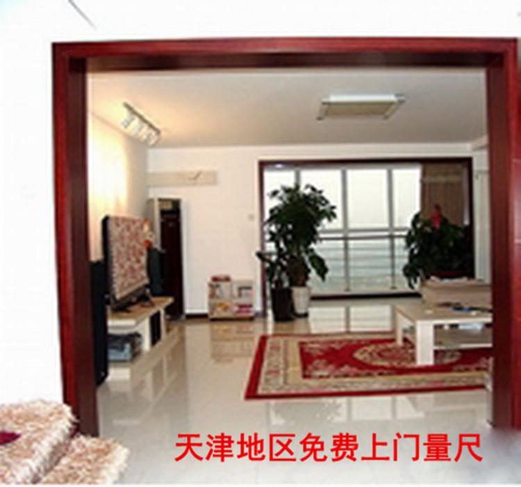 天津定做包门口包窗口门套包垭口弧形窗套防盗门包口阳台哑口套