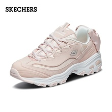 Skechers Skechers Sketches Cage Yang Zi with the same thick-soled muffin, panda shoes, daddy shoes, bow-tied casual shoes 13168