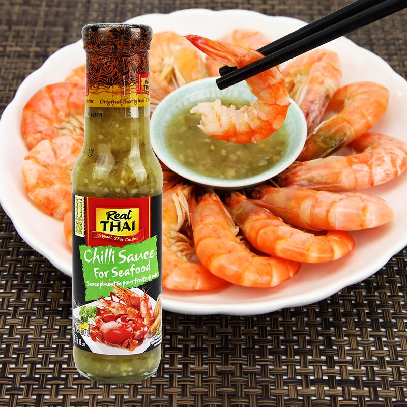 泰国进口丽尔泰海鲜辣椒酱酸辣烧烤蘸酱蘸料调味料进口泰式酱270g
