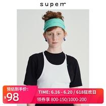 SUPERR 2020/ss vol.4新款圆领简约细吊带百搭打底吊带背心女外穿