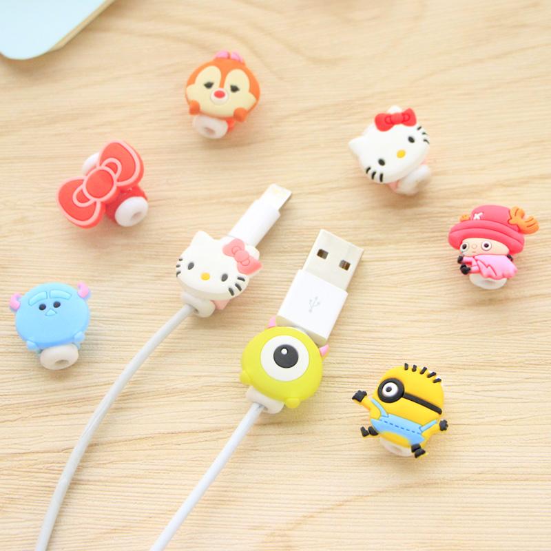 新款韩国可爱数据线保护套iphone6splus苹果卡通线套充电线保护器