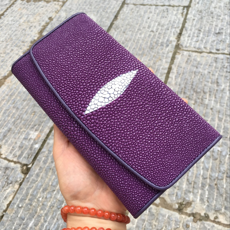 Thai genuine pearl Fish Skin Wallet with 30% discount