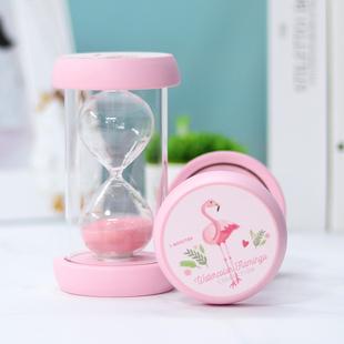 刷牙沙漏计时器五分钟半小时时间10防摔创意摆件日用品礼物小商品价格