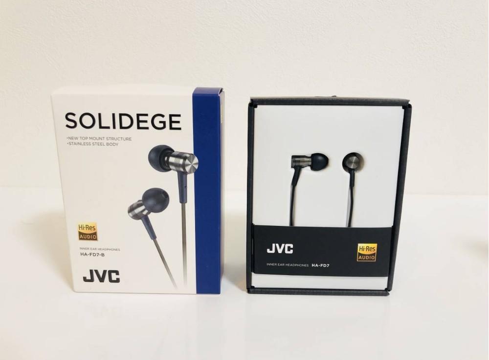 日本直发 JVC/杰伟世HA-FD7 微动圈入耳式hifi耳机耳塞HA-FD8