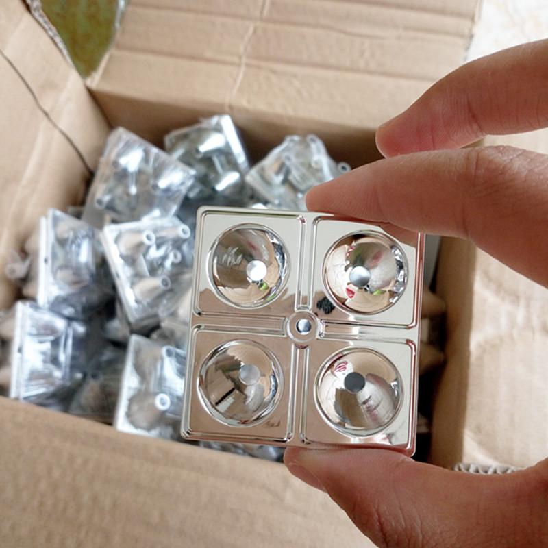 Отражающий чаша прожектор 4 отверстие кубок полоса лампы чашка свет чаша конденсатор прожектор зуммер длинный участок свет на газу прожектор обшивка