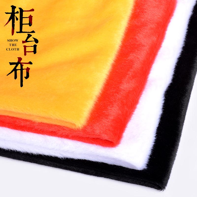Черный белый короткие плюшевые ювелирные изделия шоу ткань фланель релиз аксессуары шоу кабинет из подушка ткань ювелирные изделия счетчик подушка поддержка