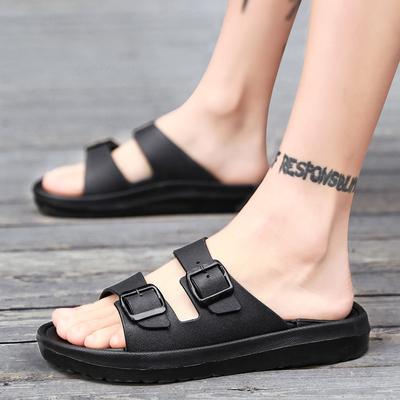 夏季外穿拖鞋学生个性潮鞋一字拖鞋
