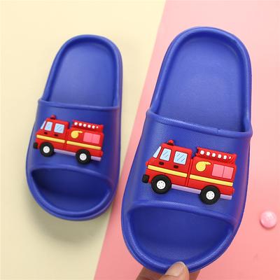宝宝男童男孩小汽车小孩防滑软底室内家用儿童凉拖鞋夏3-12岁