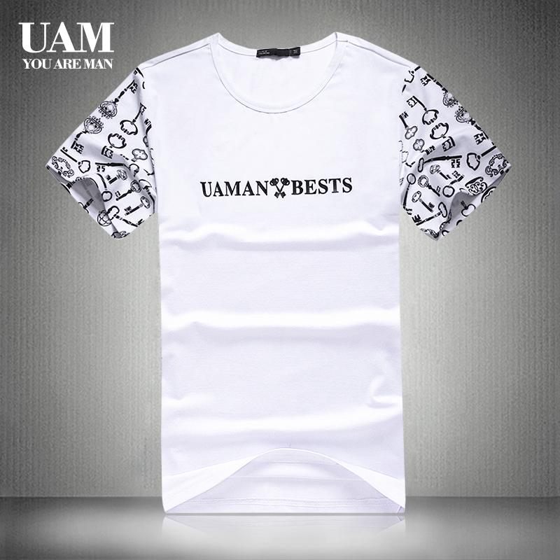 uam短袖t恤男夏季新款韩版打底衫券后88.00元