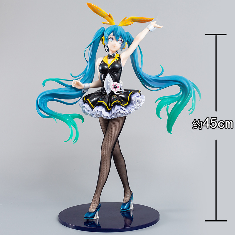 Changyuan animation initial tone melody rabbit girl 1 / 4 box hand made model gift tabletop ornament