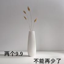 景德镇陶瓷复古陶罐粗陶落地花瓶客厅插花花盆摆件清仓捡漏包邮