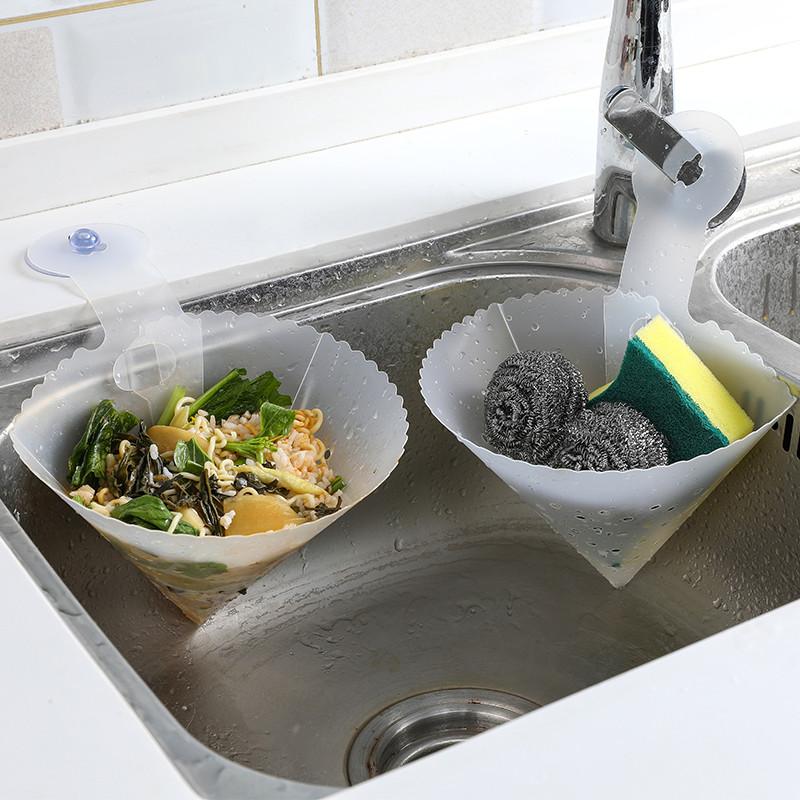 过滤网厨房水槽垃圾剩菜剩饭汤汁分离过滤器水池自立式沥水槽防堵