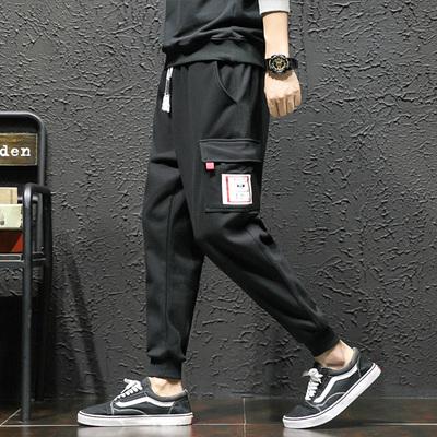 日系宽松运动裤子男韩版潮流学生ulzzang休闲裤男生ins xk828-P65