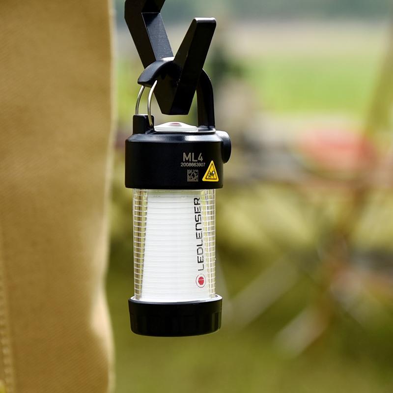 德国Ledlenser莱德雷神ML4户外露营灯迷你照明可充电帐篷灯营地灯