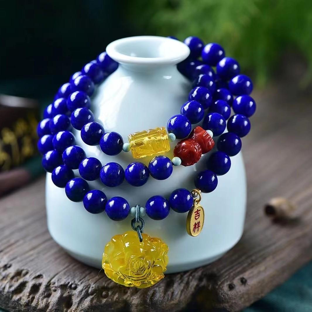 Natural exquisite lapis lazuli Bracelet