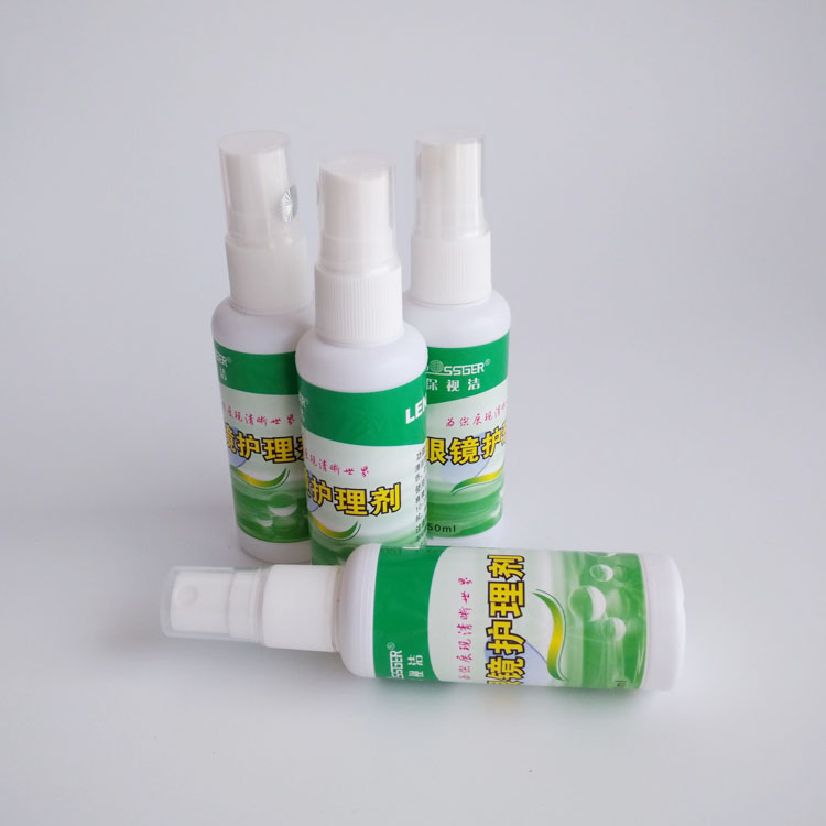 Eyeglasses cleaning spray cleanser, glasses, water myopia, lens cleaning agent, presbyopic glasses, nursing products.
