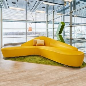 個性創意皮藝組合 簡約客廳真皮沙發 時尚小戶型現代辦公酒店家具