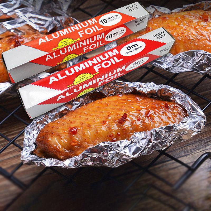 (过期)良品家居网店 家用烘焙烧烤花甲粉烤鸡鱼肉铝箔纸 券后16.9元包邮