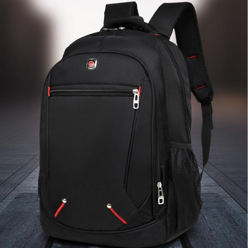 Backpack mens fashion trend campus backpack large capacity travel leisure computer bag Korean high school student schoolbag