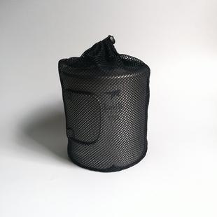铠斯千橡树火枫户外纯钛不锈钢水杯餐具收纳网袋子抽绳收纳网袋