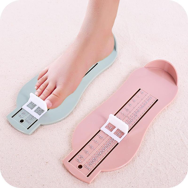 儿童买鞋量脚器家用宝宝脚长测量尺妈妈网购测量脚尺0-8岁刻度尺
