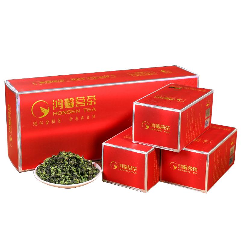 鸿馨2020促销新品包邮福建安溪铁观音清香型茶叶250克烟条礼盒装