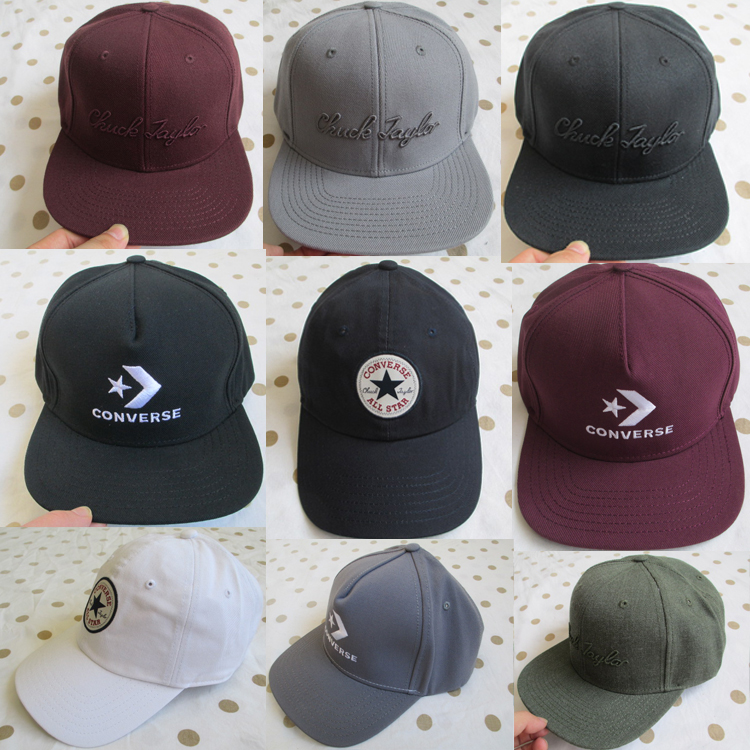 Converse hat genuine solid Baseball Hat New Womens sports hat mens hat black hat converse hat